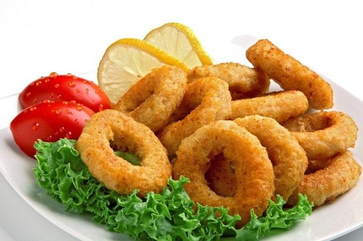 Air Fried Squid Rings